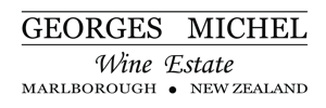 Georges Michel Wine Estate Marlborough New Zealand Logo Black